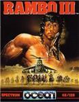 Carátula o portada Europea del juego Rambo III para Spectrum