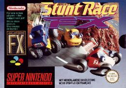 Carátula de Stunt Race FX para Super Nintendo