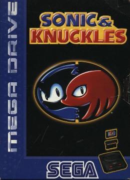 Carátula de Sonic & Knuckles para Mega Drive