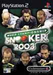 Carátula de World Championship Snooker 2003 para PlayStation 2