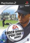 Carátula de Tiger Woods PGA Tour 2003 para PlayStation 2