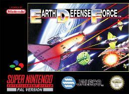 Carátula de Earth Defense Force para Super Nintendo