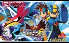Carátula de Mega Man Battle Network 6: Faltzer Version para Game Boy Advance