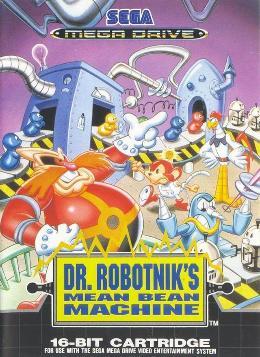 Carátula de Dr. Robotnik's Mean Bean Machine para Mega Drive