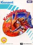 Carátula de Knightmare para MSX