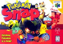 Carátula de Pokémon Snap para Nintendo 64