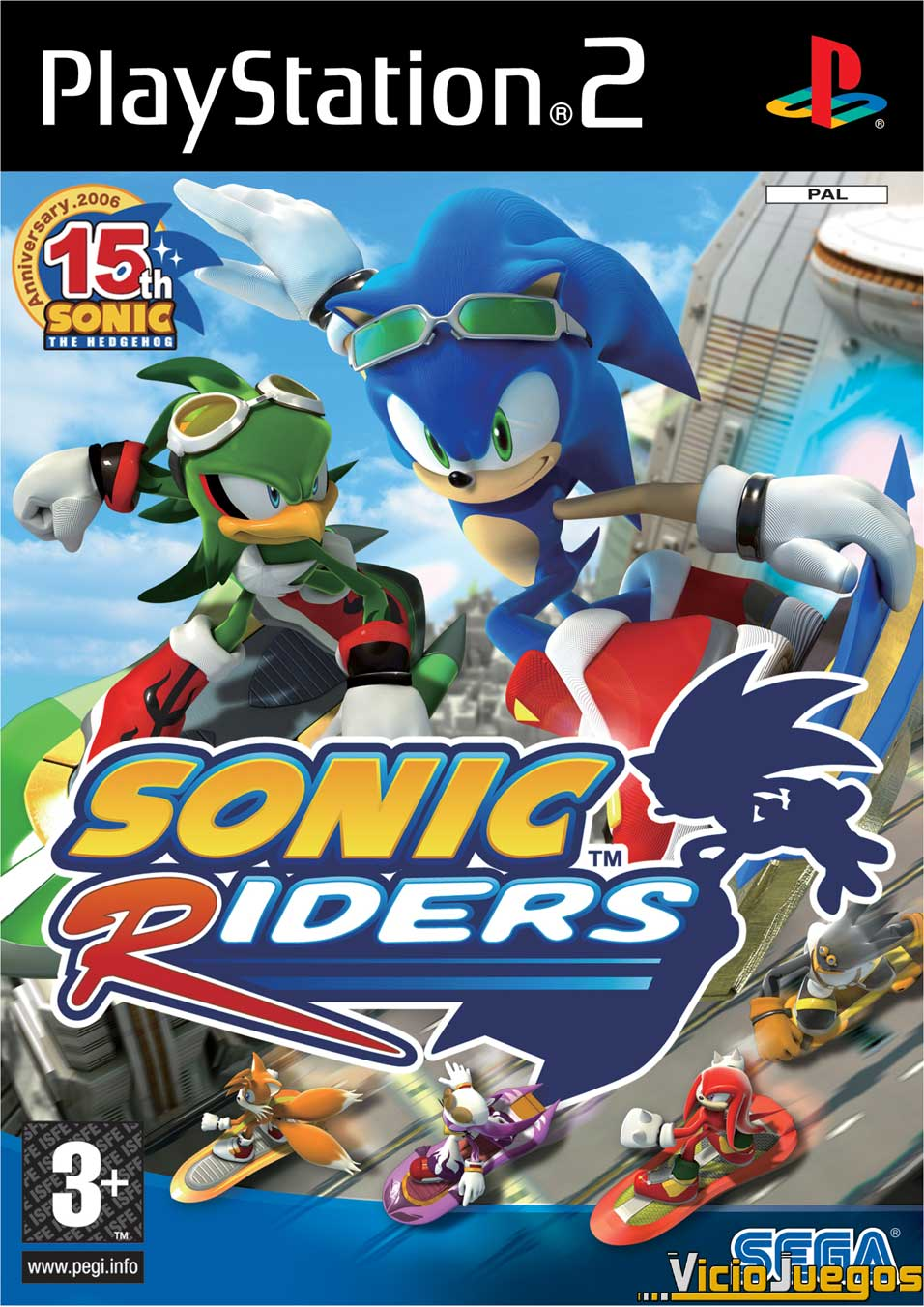 sonic riders playstation 2