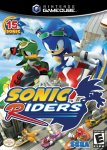 Car�tula de Sonic Riders para GameCube