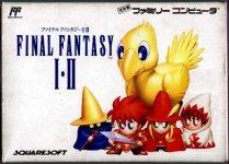 Carátula de Final Fantasy I & II para NES