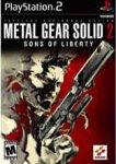Carátula o portada EEUU del juego Metal Gear Solid 2: Sons of Liberty para PlayStation 2