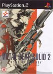 Carátula de Metal Gear Solid 2: Sons of Liberty para PlayStation 2