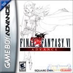 Carátula o portada EEUU del juego Final Fantasy VI para Game Boy Advance