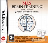 Carátula de Más Brain Training del Doctor Kawashima: ¿Cuántos años tiene tu cerebro?