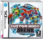 Carátula de Custom Robo Arena para Nintendo DS