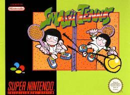 Carátula de Smash Tennis para Super Nintendo