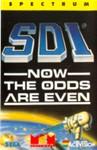 Carátula o portada Europea del juego SDI: Now the odds are even para Spectrum