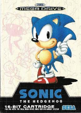 Carátula de Sonic the Hedgehog para Mega Drive