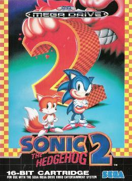Carátula de Sonic the Hedgehog 2 para Mega Drive