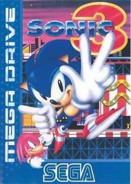 Carátula de Sonic 3 para Mega Drive