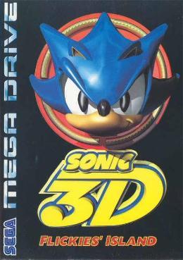 Carátula de Sonic 3D: Flickies' Island para Mega Drive