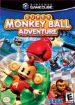 Carátula o portada EEUU del juego Super Monkey Ball Adventure para GameCube