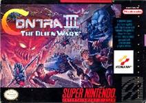 Carátula de Contra III: The alien Wars para Super Nintendo