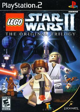 Carátula de Lego Star Wars II: The Original Trilogy para PlayStation 2