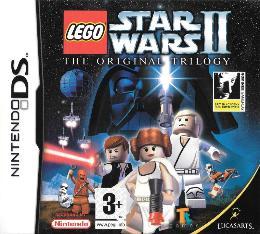 Carátula de Lego Star Wars II: The Original Trilogy para Nintendo DS
