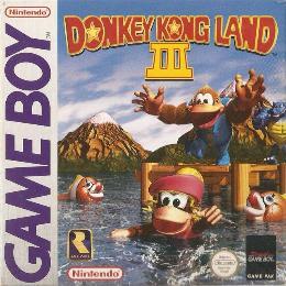 Carátula o portada Europea del juego Donkey Kong Land 3 para Game Boy