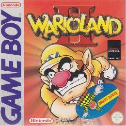 Carátula o portada Europea del juego Wario Land II para Game Boy