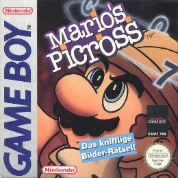 Carátula de Mario's Picross