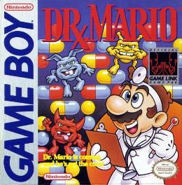 Carátula o portada EEUU del juego Dr. Mario para Game Boy