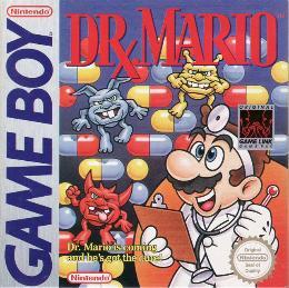 Carátula o portada Europea del juego Dr. Mario para Game Boy