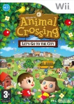 Carátula de Animal Crossing: Let's Go to the City para Wii