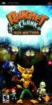Car�tula de Ratchet & Clank: El tama�o importa para PlayStation Portable