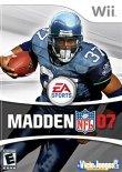 Carátula de Madden NFL 07 para Wii