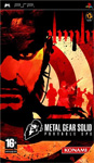 Carátula de Metal Gear Solid: Portable Ops para PlayStation Portable