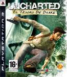 Carátula de Uncharted: El tesoro de Drake para PlayStation 3