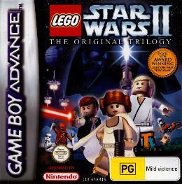 Carátula de Lego Star Wars II: The Original Trilogy para Game Boy Advance