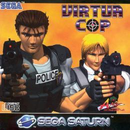 Carátula de Virtua Cop para Saturn