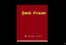 Carátula de Sonic Eraser