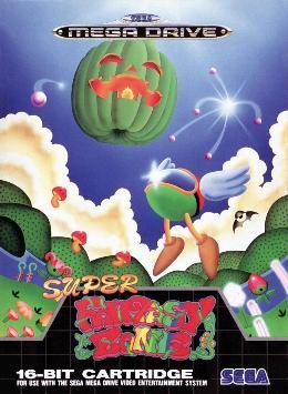 Carátula de Super Fantasy Zone para Mega Drive