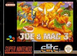 Carátula de Joe & Mac 3: Lost in the Tropics para Super Nintendo