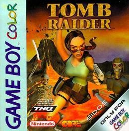 Carátula de Tomb Raider para Game Boy Color