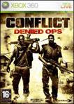 Carátula o portada Europea del juego Conflict: Denied Ops para Xbox 360