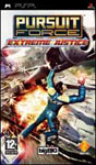 Car�tula de Pursuit Force: Extreme Justice para PlayStation Portable