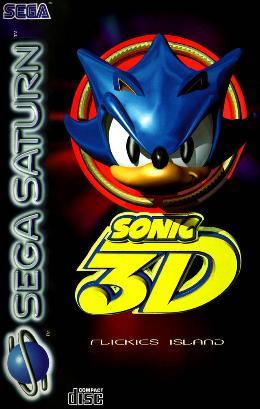 Carátula o portada Europea del juego Sonic 3D: Flickies' Island para Saturn