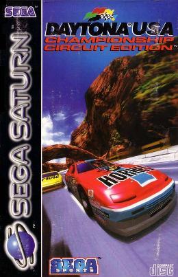 Carátula o portada Europea del juego Daytona USA: Championship Circuit Edition para Saturn