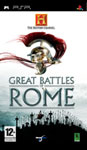 Carátula de The History Channel: Great Battles of Rome para PlayStation Portable