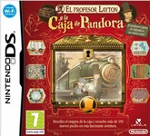 Carátula de El Profesor Layton y la Caja de Pandora para Nintendo DS